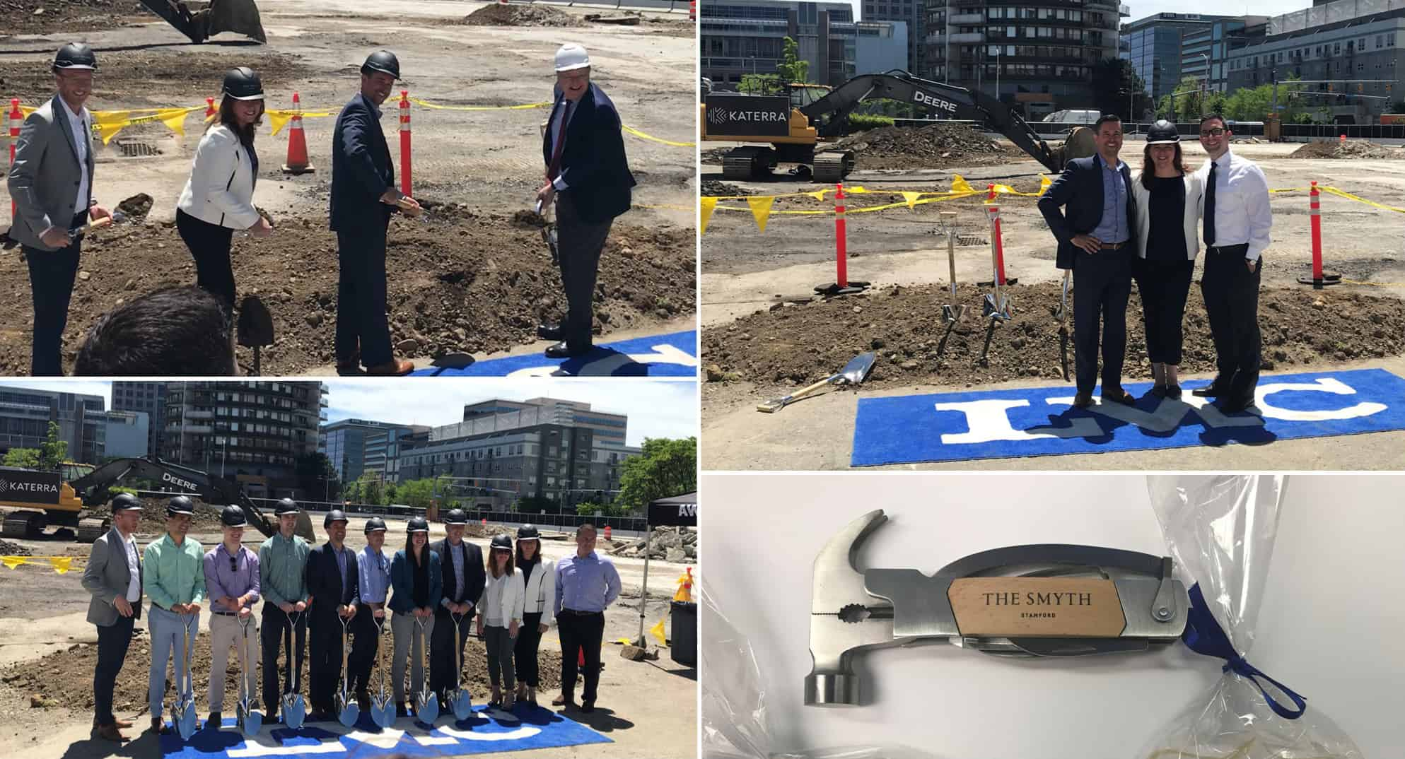 Groundbreaking of a Mixed-Use High-End High-Rise - The Smyth
